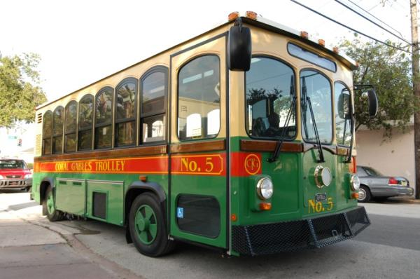 Trolley side view - 1