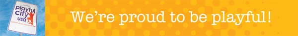 Playful City USA Banner