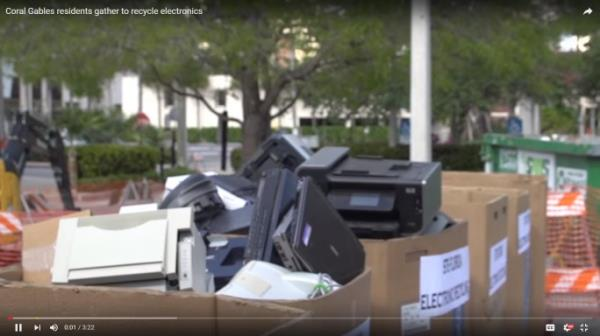 Electronic Recycling Event Video Screenshot