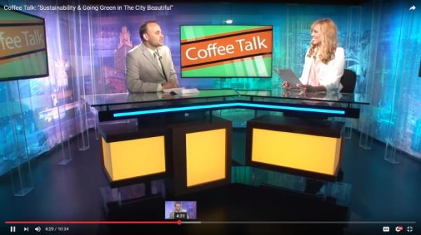 Coffee Talk Interview on Sustainability Screenshot
