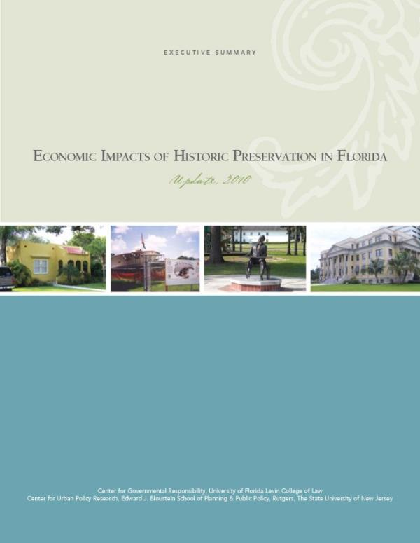 Economic Impacts cover 2010